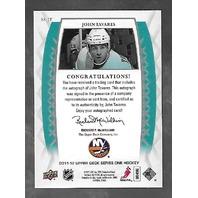John Tavares 2011-12 Upper Deck Hockey Signature Sensations Autograph Auto SS-JT