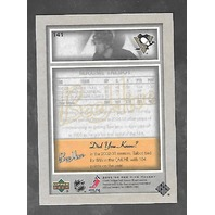 Maxime Talbot 2005-06 Upper Deck Hockey Bee Hive Autograph Auto #141
