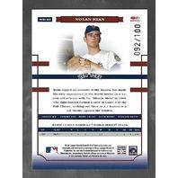 NOLAN RYAN 2004 Donruss World Series Blue Holofoil /100 New York Mets