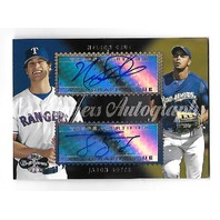 NELSON CRUZ/JASON BOTTS 2006 Topps Co-Signers Autograph #CS-73 Rangers Brewers