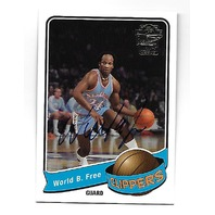 WORLD B. FREE 2004-05 Topps All-Time Fan Favorites Autograph #FFA-WBF