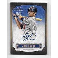 JOE MAUER 2012 Topps Five Star Active Rainbow auto /25 Autograph