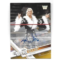 "RIC ""NATURE BOY"" FLAIR 2017 Topps  WWE Legend auto /10 Autograph"