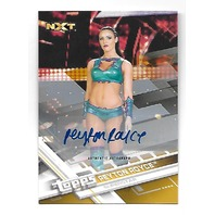 PEYTON ROYCE 2017 Topps WWE NXT Superstar auto /10 Autograph
