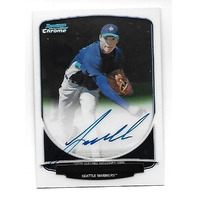 TAIJUAN WALKER 2013 Bowman Chrome Prospect Auto Autograph #BCPTW Diamondbacks