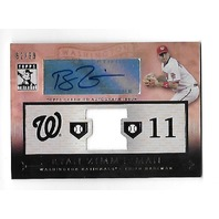 RYAN ZIMMERMAN 2010 Topps Tribute Auto Autograph Relics /99 Washington Nationals