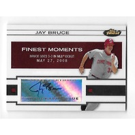 JAY BRUCE 2009 Topps Finest Moments Auto Autograph #FMA-JB Cleveland Indians