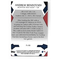 ANDREW BENINTENDI 2015 Topps Bowman's Best First Impressions Refractor #FI-AB
