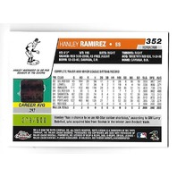 HANLEY RAMIREZ 2006 Topps Chrome Refractor RC Autograph /500 auto Red Sox