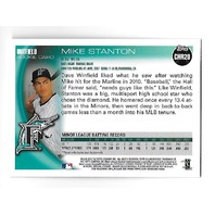 MIKE Giancarlo STANTON 2010 Topps Update Chrome Rookie RC Refractor CHR20