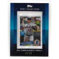 MAX SCHERZER 2011 Topps Silk Collection /50 Washington Nationals