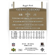 REGGIE BUSH 2006 Upper Deck Future Legends /750 New Orleans Saints