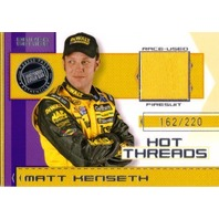 MATT KENSETH 2006 Press Pass Premium Hot Threads Drivers /220 Race Firesuit Card