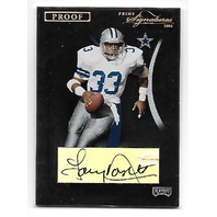 TONY DORSETT 2004 Playoff Prime Signatures Proof Gold Auto /24 autograph
