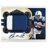 DELONE CARTER 2011 National Treasures Rookie Signature Material Black auto/25 RC