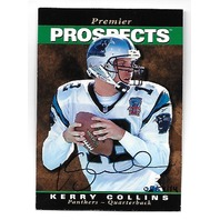 KERRY COLLINS 2000 UD Upper Deck SP Authentic Buy Back 95SP auto /114