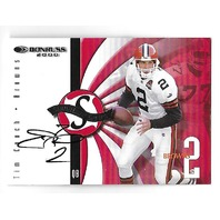 TIM COUCH 2000 Donruss Signature Series Red auto Print Run 25