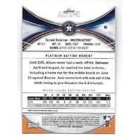 JOSE ALTUVE 2016 Bowman's Platinum Green /99 Houston Astros