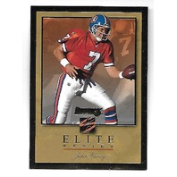 JOHN ELWAY 1996 Donruss Elite Gold /2000 Denver Broncos