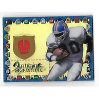 TERRELL DAVIS 1997 Collector's Edge Authentic Signature auto autograph relic /500