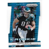 ZACH ERTZ 2013 Panini Prizm Prizms Pulsar Light Blue Die-cut RC Rookie /15