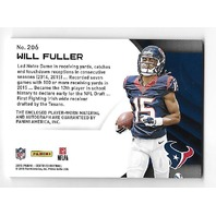 WILL FULLER 2016 Panini Certified Freshman Jersey RC 3 color patch auto /149