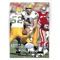 BRETT FAVRE 1996 Pinnacle Action Packed Artists Proof #18 Packers Jets Vikings