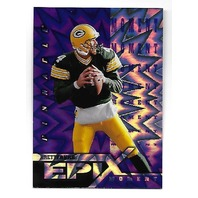 BRETT FAVRE 1997 Pinnacle Epix Purple Moment #E10 Packers Vikings Jets