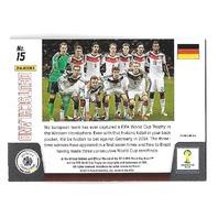2014 Panini Prizm World Cup Team Photos Prizms #15 Deutschland