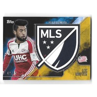 LEE NGYUEN 2015 Topps Apex MLS Crest Jumbo Relics Gold Match Used /40 Revolution