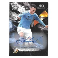 JACK HARRISON 2016 Topps Apex MLS Autograph auto #3 Rookie RC New York City FC