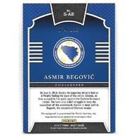 ASMIR BEGOVIC 2016-17 Panini Select Signatures refractor auto /199