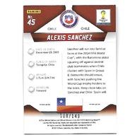 ALEXIS SANCHEZ 2014 Panini Prizm World Cup Soccer Prizms Red /149