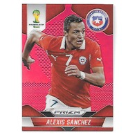 ALEXIS SANCHEZ 2014 Panini Prizm World Cup Soccer Prizms Red /149