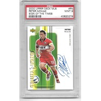 PETER NOWAK 2000 Upper Deck MLS Sign of the Times #PN PSA MT 9