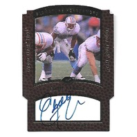 EDDIE GEORGE 1997 Upper Deck Signature Performers Die-cut hologram auto #PF4