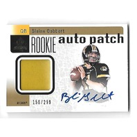 BLAINE GABBERT 2011 Upper Deck SP Rookie RC auto patch /299 Cardinals