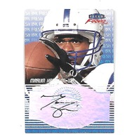 MARVIN HARRISON 1999 Fleer Focus Fresh Ink auto Indianapolis Colts