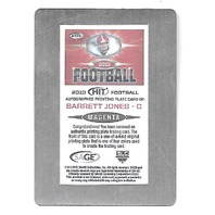 BARRET JONES 2013 SAGE HIT Autograph Printing Plate Magenta auto 1/1 Alabama