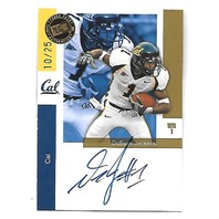 DeSHEAN JACKSON 2008 Press Pass WalMart Exclusive Autograph auto/25 Golden Bears