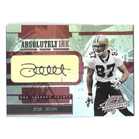 JOE HORN 2003 Absolute Memorabilia Absolutely Ink auto /25 New Orleans Saints