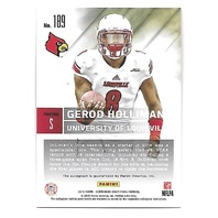 GEROD HOLLIMAN 2015 Panini Contenders Draft Picks Draft Ticket Red Foil #189