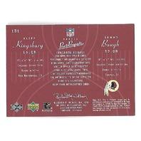 KLIFF KINGSBURY/SAMMY BAUGH 2003 Upper Deck Pros & Prospects auto /2000 Aggies