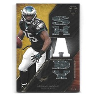 "LeSEAN ""SHADY"" McCOY 2014 Topps Triple Threads Relics Gold patch /9 Eagles Bills"