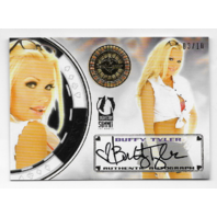 Buffy Tyler 2014 BenchWarmer Industry Summit Vegas Baby Gold /10 Auto autograph