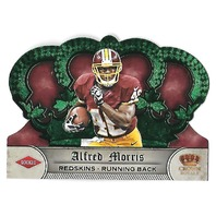 ALFRED MORRIS 2012 Panini Crown Royale Green Die-cut /49 Washington Redskins