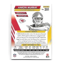 AARON MURRAY 2014 Playoff Absolute Rookie Premier Materials patch auto /20 Chiefs RC