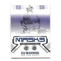 ELI MANNING 2004 Leaf Rookies Stars R&S Masks Memorabilia RC /325 NY Giants