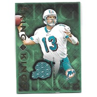 DAN MARINO 2001 Topps King of Kings Jersey patch #KDM Miami Dolphins