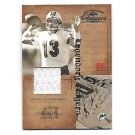 DAN MARINO 2004 Donruss Classics Legendary Players Jersey Patch LP4 Dolphins/100